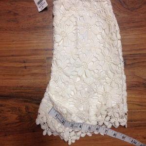 Hollister Shorts - Hollister Lace Shorts Size 00 NWT